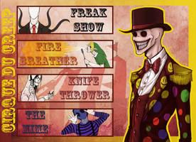 Cirque Du Creep by SUCHanARTIST13