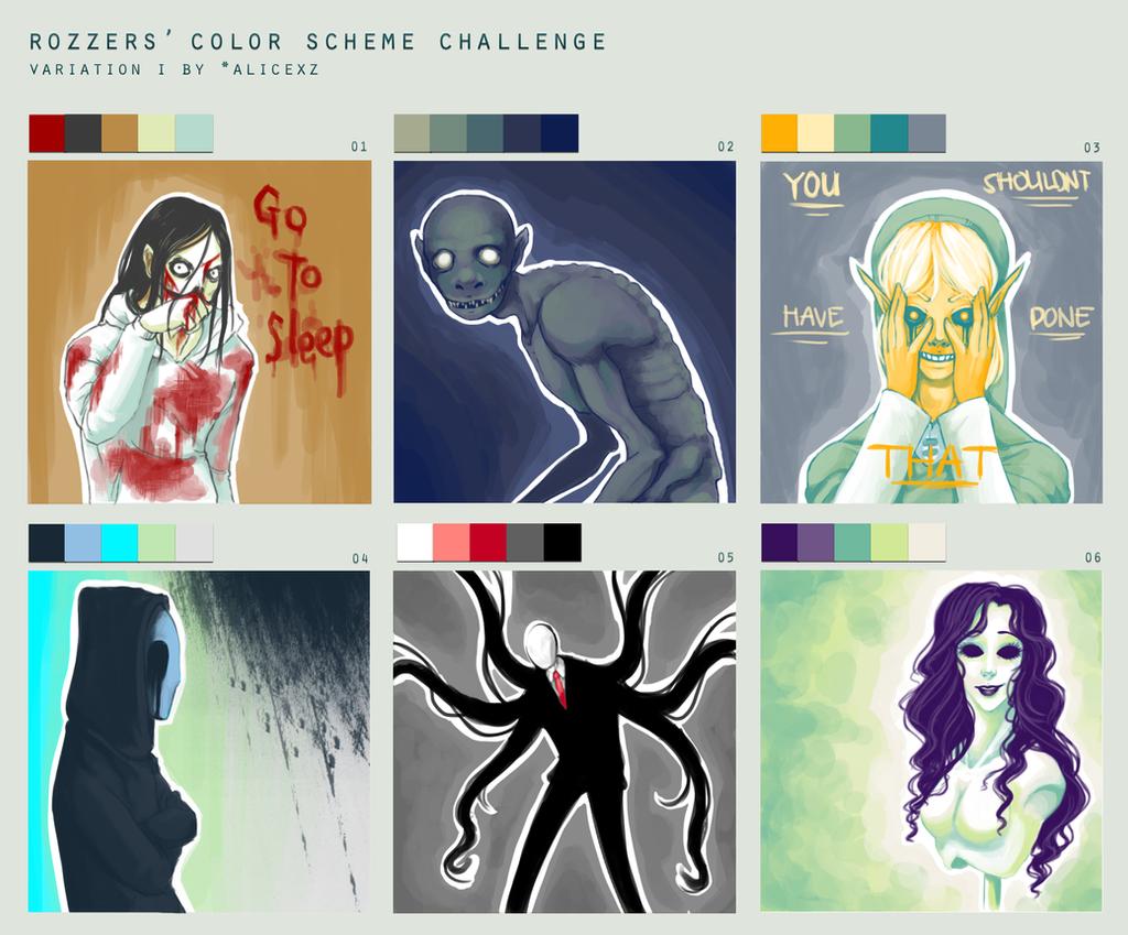 Color Scheme challenge by SUCHanARTIST13