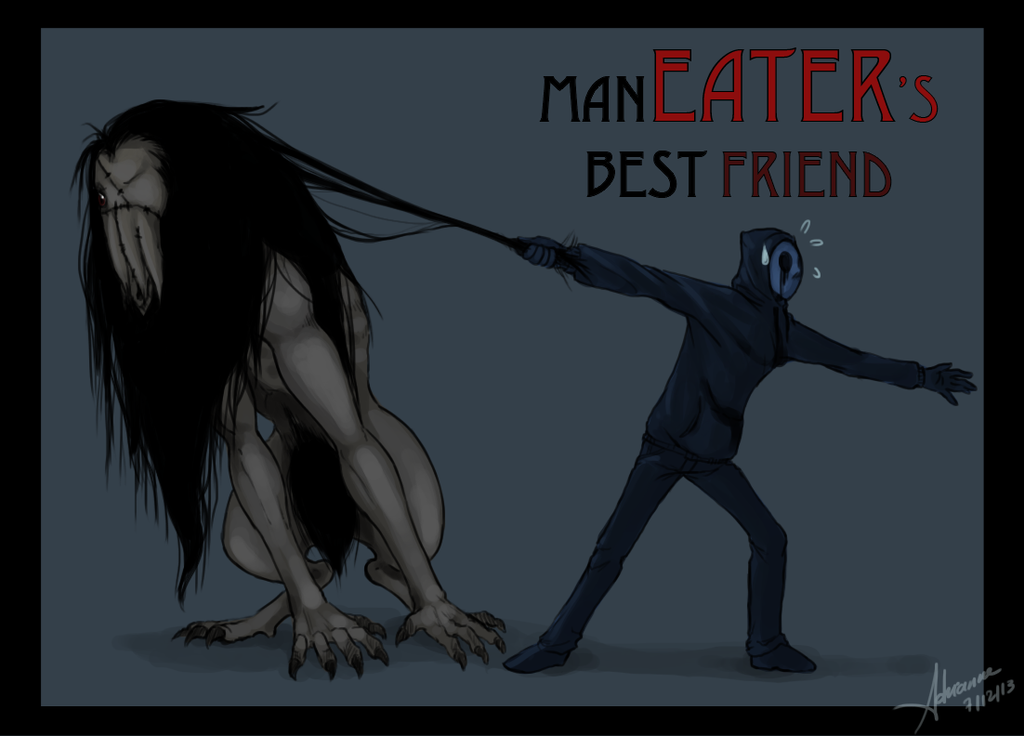 Eyeless Jack Wallpaper Eyeless jack's annoying pet by