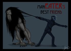 Eyeless Jack's Annoying Pet by SUCHanARTIST13