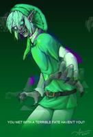 Glitch Monster by SUCHanARTIST13