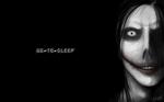 Jeff The Killer Black And White Wallpaper