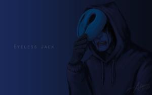 Eyeless Jack Wallpaper by SUCHanARTIST13