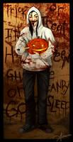 Jeff's Neato Mask by SUCHanARTIST13
