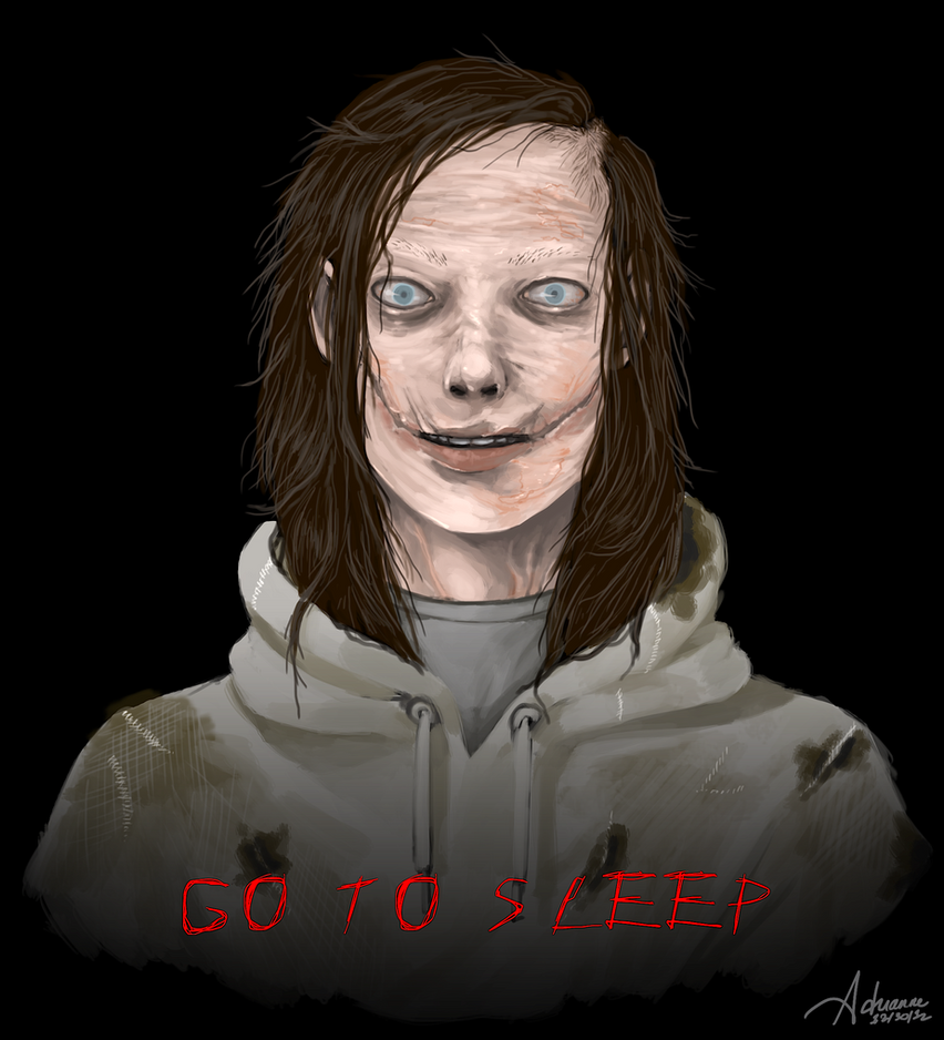 Jeff the Killer (Real form) by SUCHanARTIST13