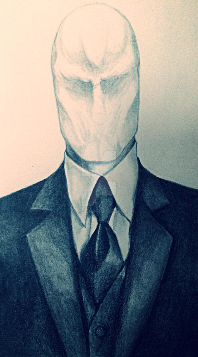 slenderman by SUCHanARTIST13