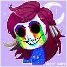 Dreamscape pixel art.