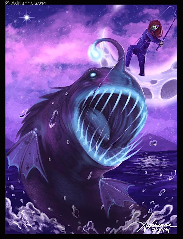 Gone Fishing by SUCHanARTIST13