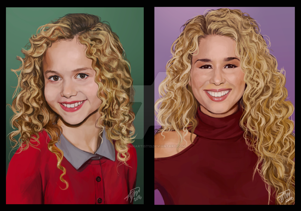 Bebe-before and after by SUCHanARTIST13