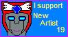 New Artist Love by RobotMaster3