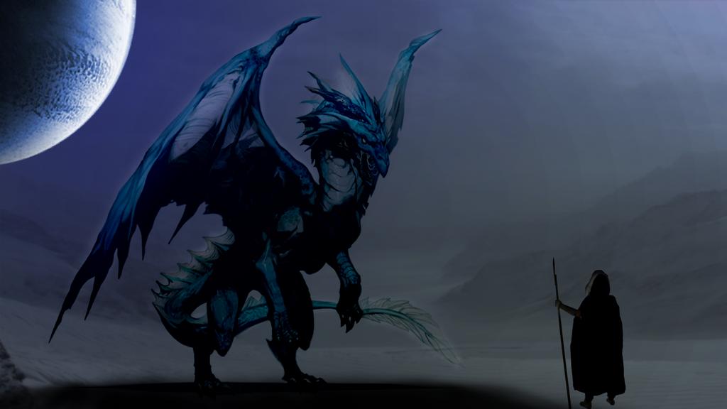 dragon vs huntress 2 by samstark64