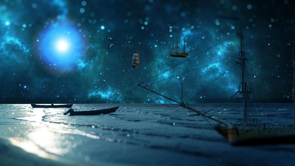 galactic ship dock by samstark64