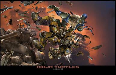 TMNT - Leonardo by uncannyknack