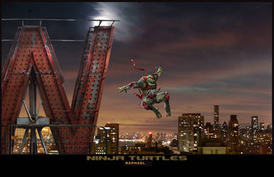 TMNT- Raphael by uncannyknack