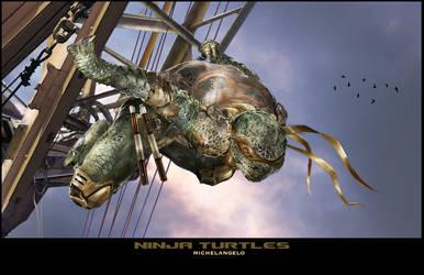 TMNT- Michelangelo by uncannyknack