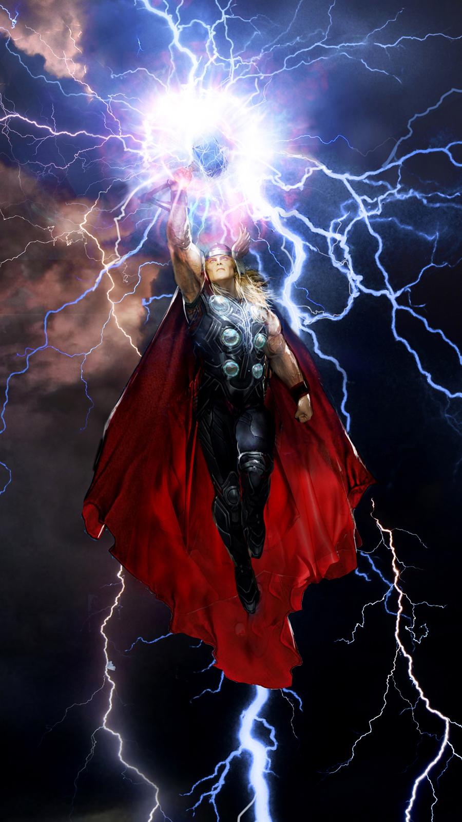 artwork gods lightning marvel - photo #4