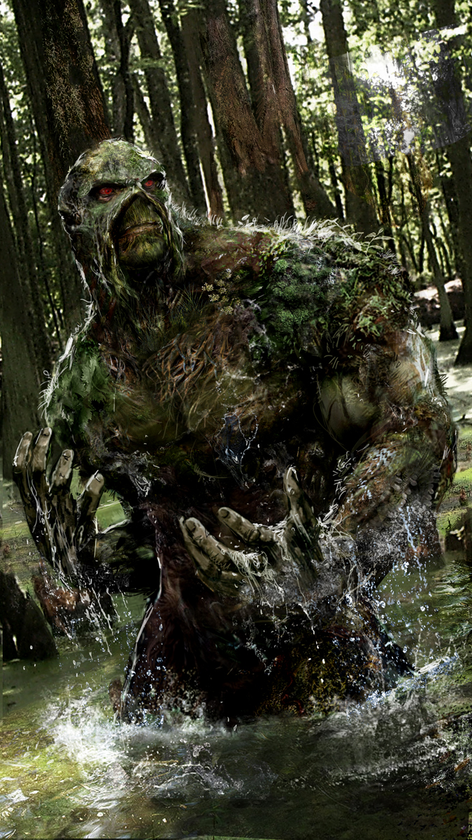 SwampThing by uncannyknack on DeviantArt
