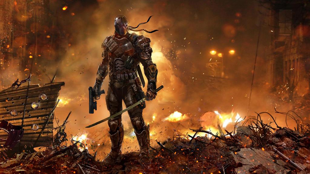Deathstroke the Terminator by uncannyknack