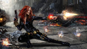 Black Widow by uncannyknack