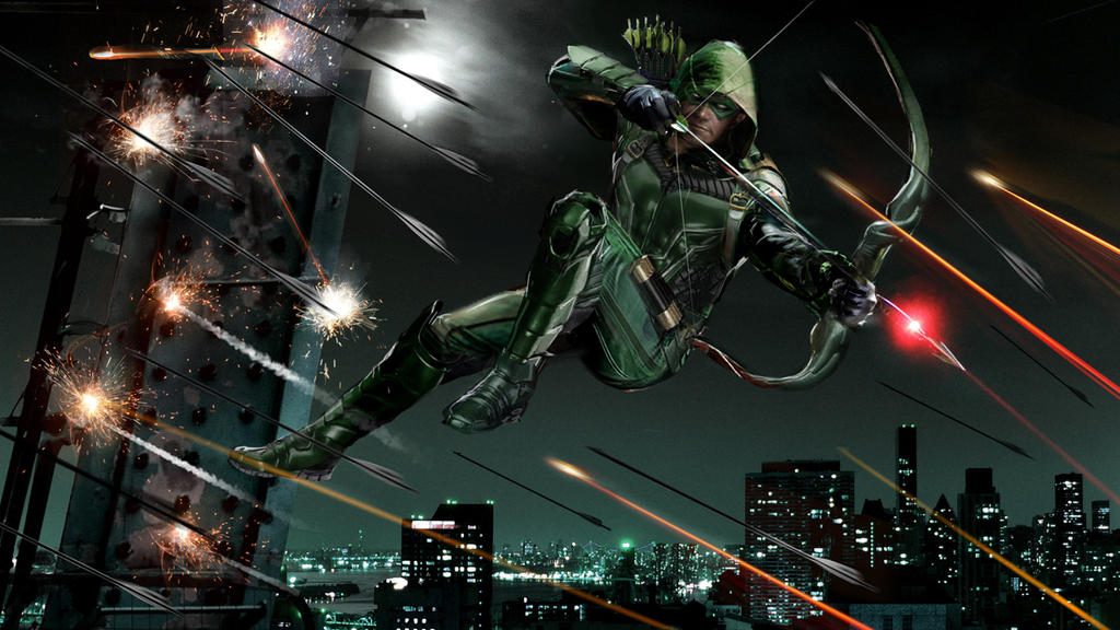 Green Arrow By Uncannyknack
