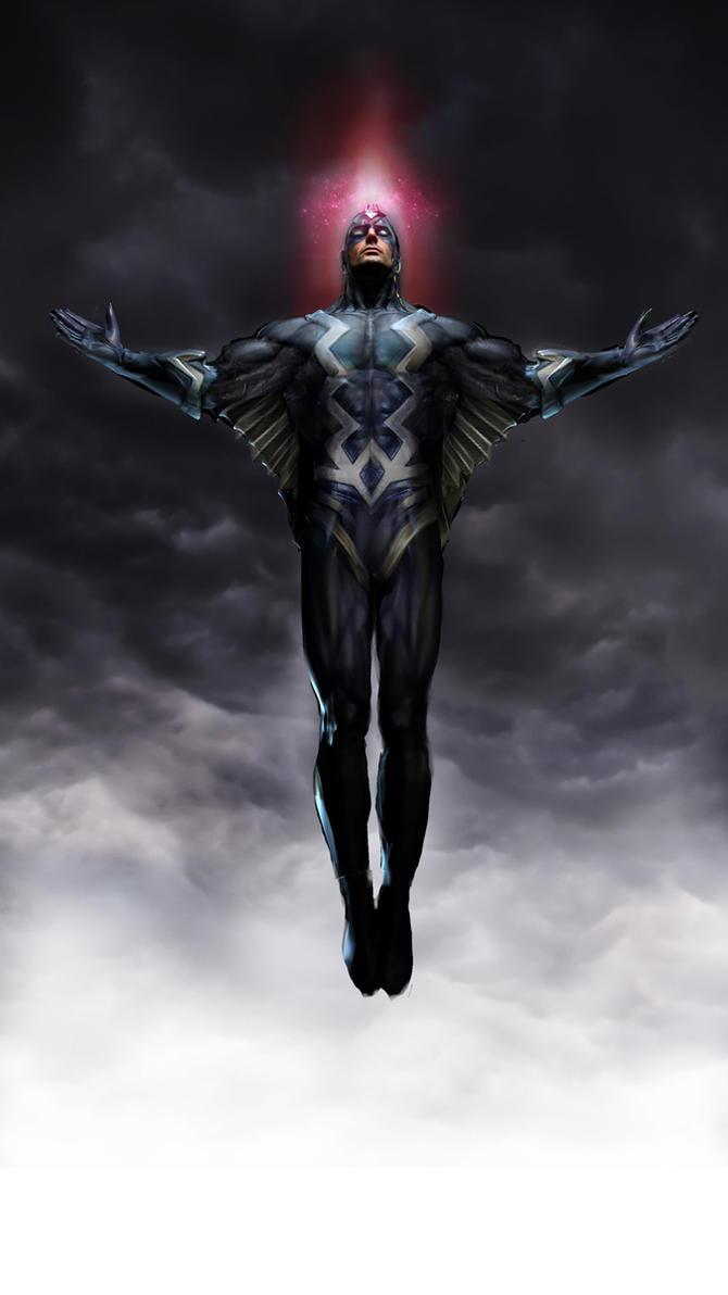 Black Bolt by uncannyknack
