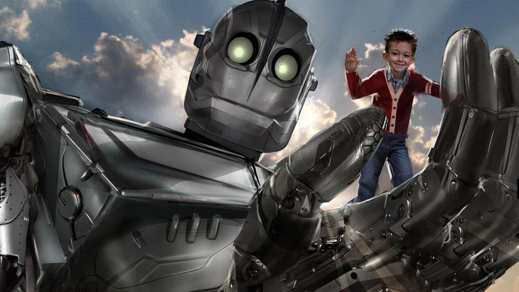 Iron Giant - revised by uncannyknack