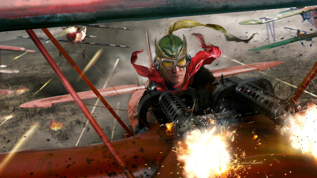 Enemy Ace by uncannyknack