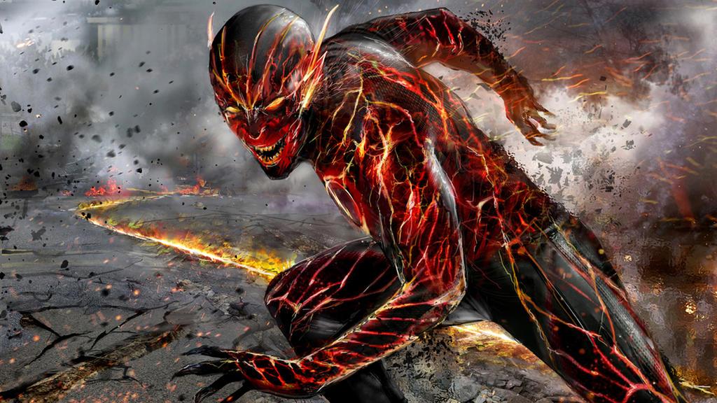 Reverse flash new 52 by uncannyknack on deviantart - New 52 wallpaper ...