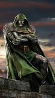 Doctor Doom by uncannyknack