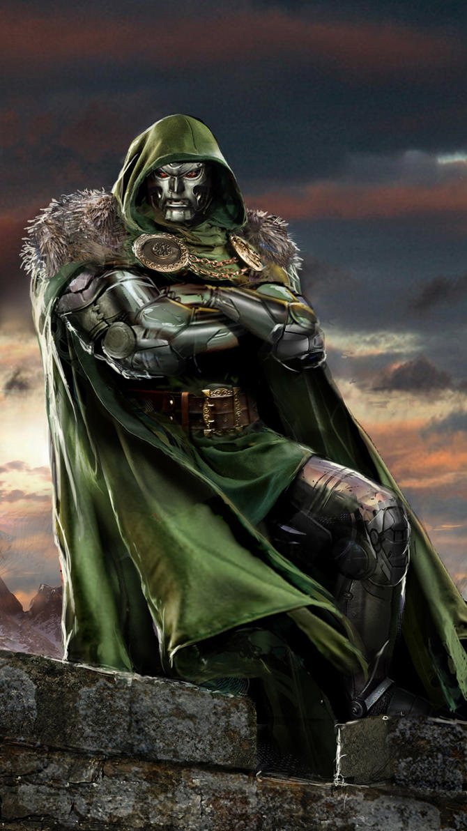 Doctor Doom by uncannyknack