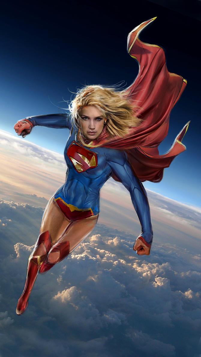 Supergirl by uncannyknack on DeviantArt