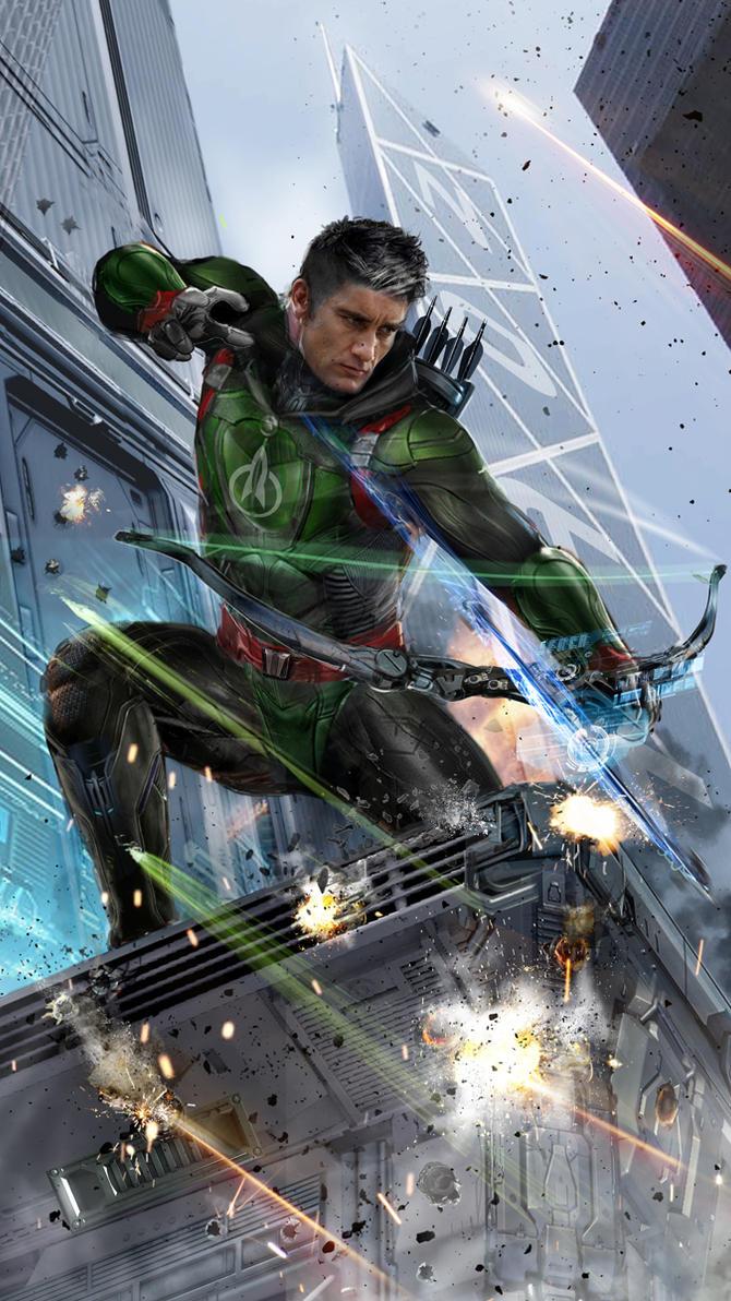 Rocket Robin Hood WIP by uncannyknack