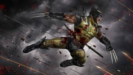 Wolverine WIP by uncannyknack