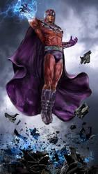 Magneto v2 WIP by uncannyknack