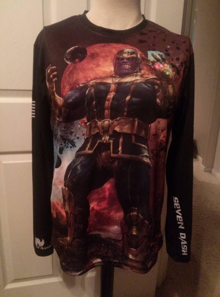 Thanos shirt by uncannyknack
