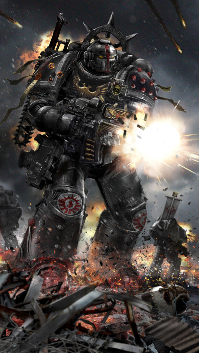 Warhammer 40K by uncannyknack on DeviantArt