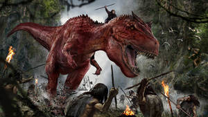 Devil Dinosaur WIP