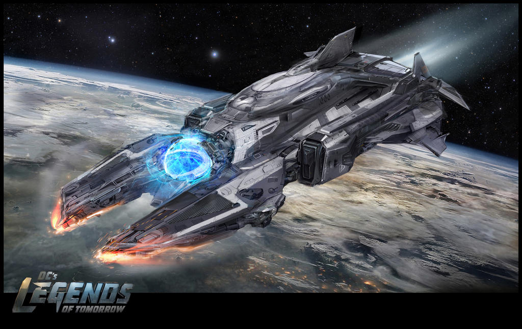 Legends Waverider By Uncannyknack On DeviantArt