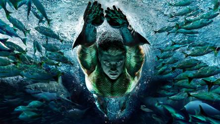 Aquaman WIP by uncannyknack