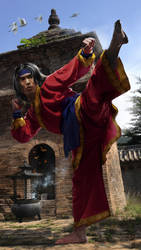 Shang-Chi WIP by uncannyknack