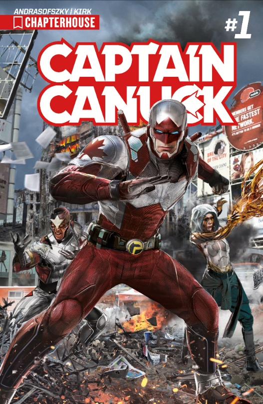 Captain Canuck by uncannyknack
