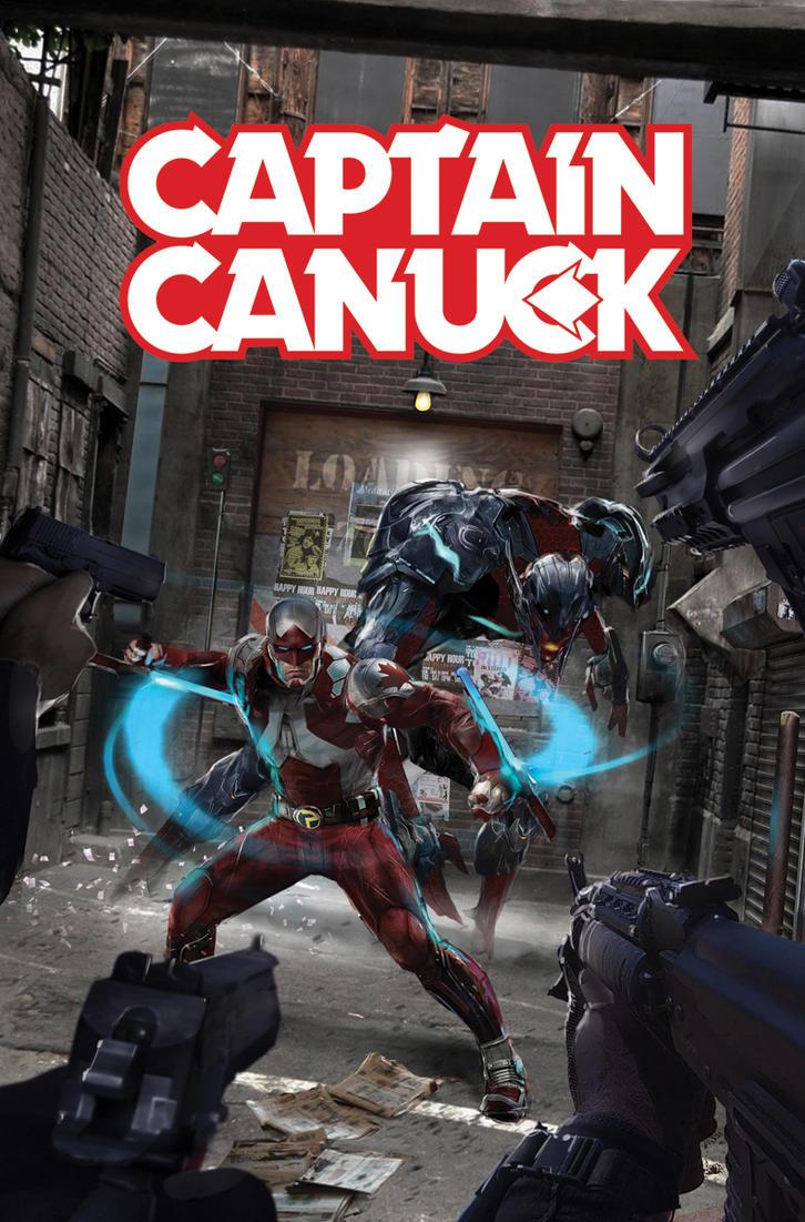 Captain Canuck #4 by uncannyknack