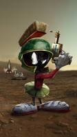 Marvin! by uncannyknack