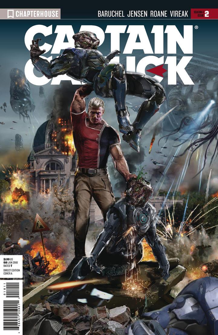 Captain Canuck #2 by uncannyknack