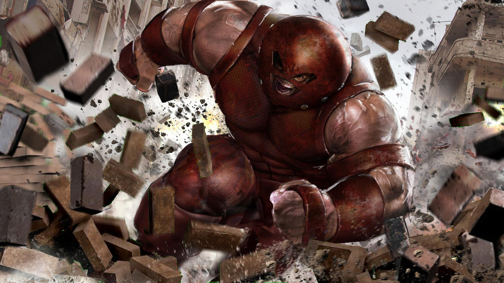 Juggernaut WIP by uncannyknack