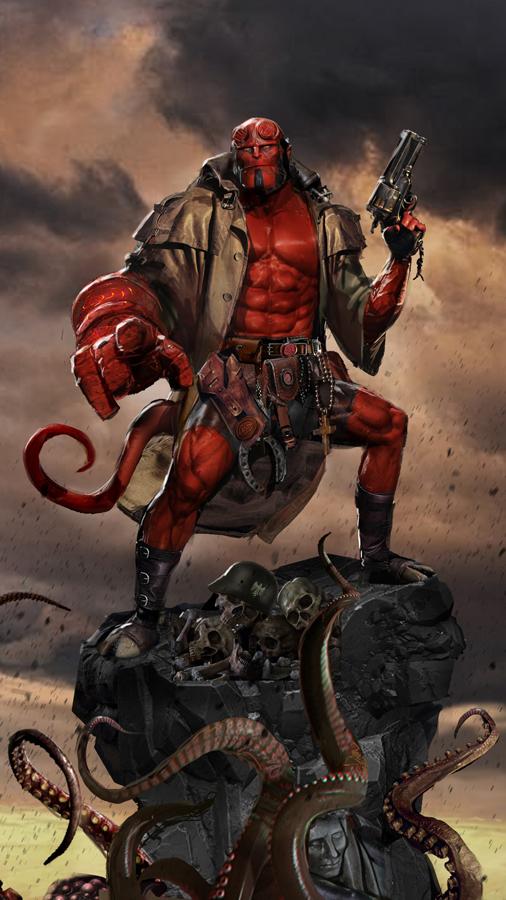 Straight to Hellboy by uncannyknack