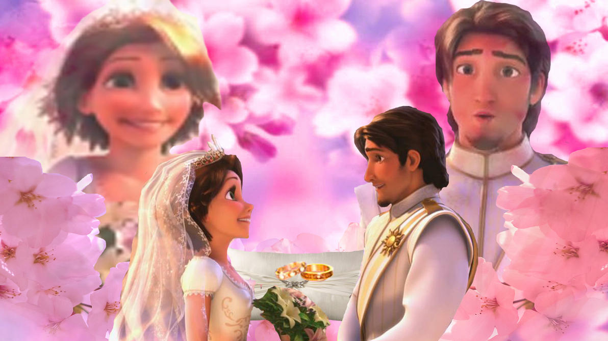 The Wedding in Spring 2012 Tangled Ever After by x12Rapunzelx