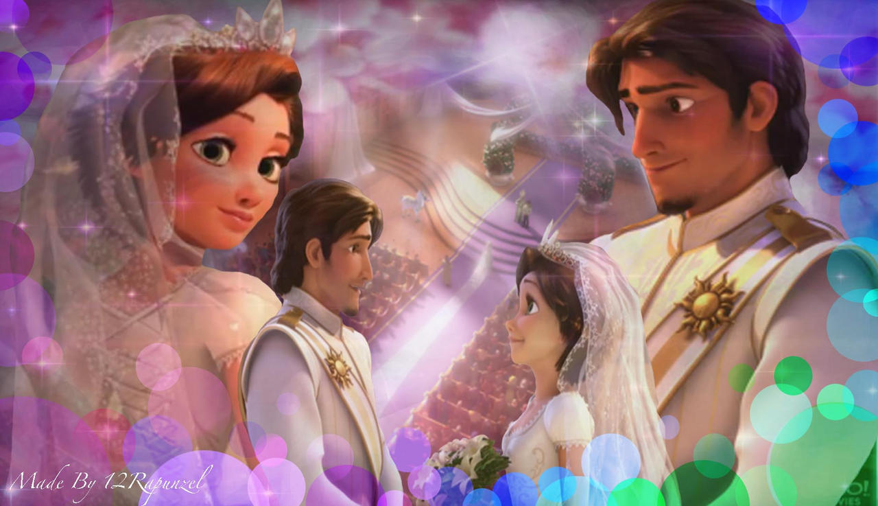 Tangled Ever After Wedding by x12Rapunzelx on DeviantArt