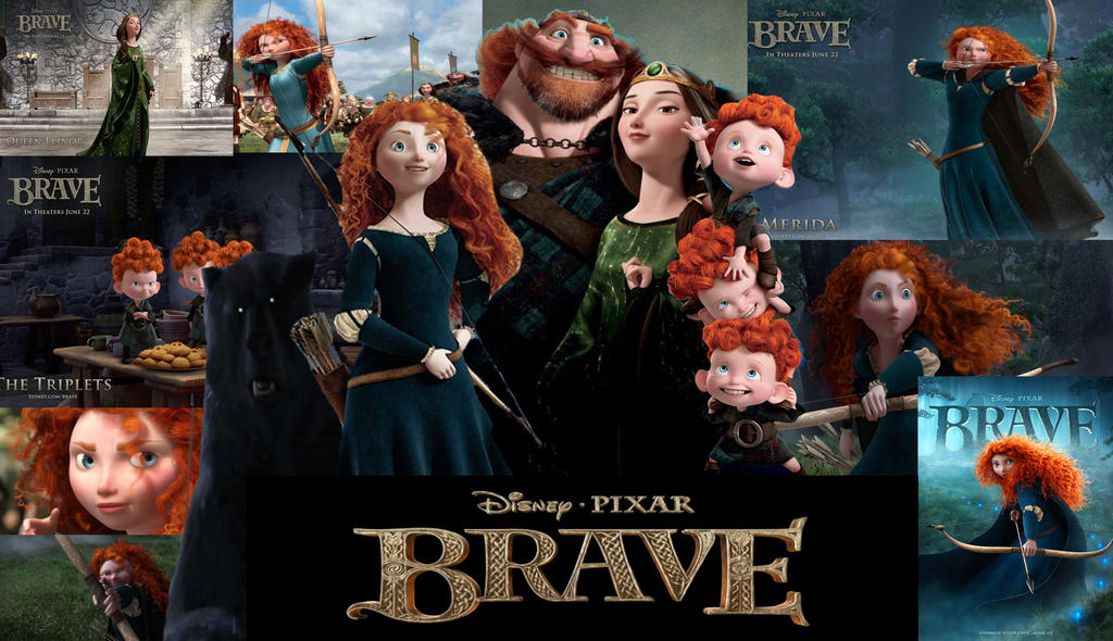 Brave Collage 2 by x12Rapunzelx
