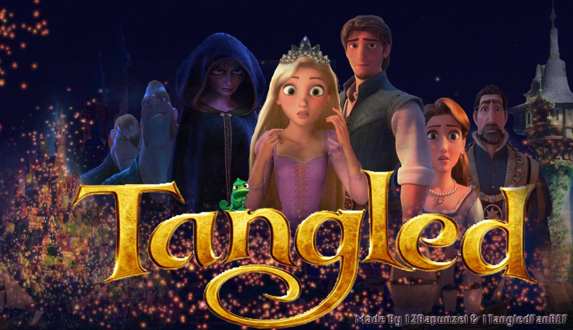 Tangled Wallpaper 3 By X12Rapunzelx